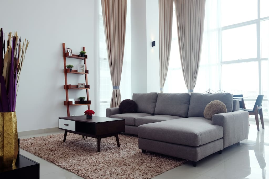Seaview duplex georgetown penang apartments for rent in for Sofa bed penang