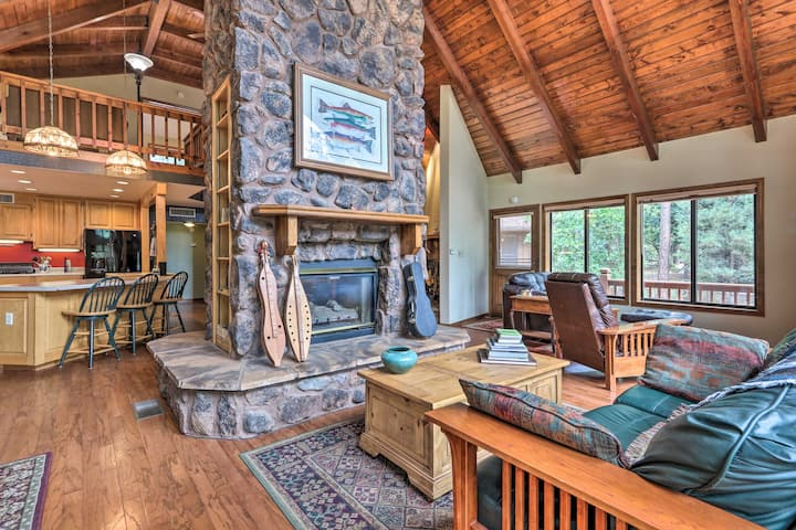 NEW! Pastoral Pine Cabin < 5 Miles from Downtown!