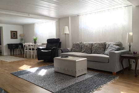 Large, relaxing apartment with sauna, near airport - 萬塔(Vantaa) - 獨棟