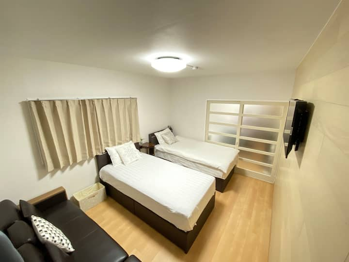 Room 205 shinjyuku area 大久保駅がら 5分 WIFI Free