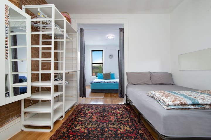 Your spacious East village apartment