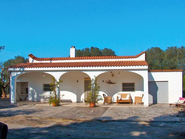 Charming house with pool and close to the sea