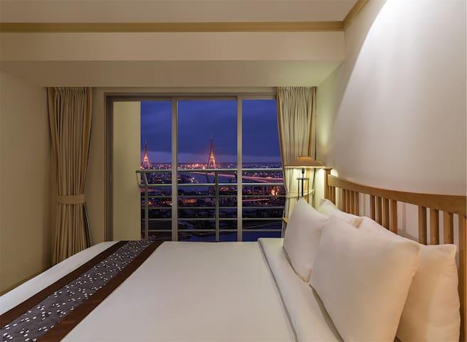 Riverfront Residence Bangkok River view (2BR)