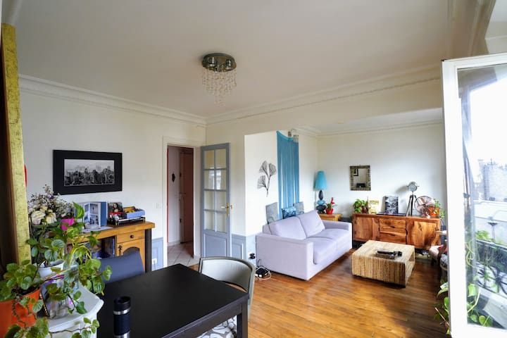 Bright & peaceful flat 35m2 - Paris- Special OFFER