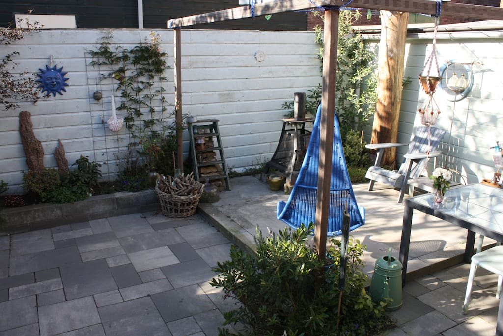 The Garden which you share with the owner in summertime