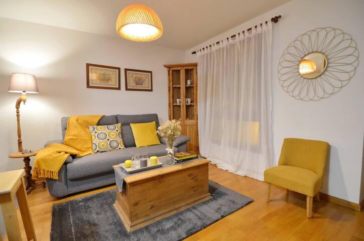 Acogedor apartamento en el centro del pueblo