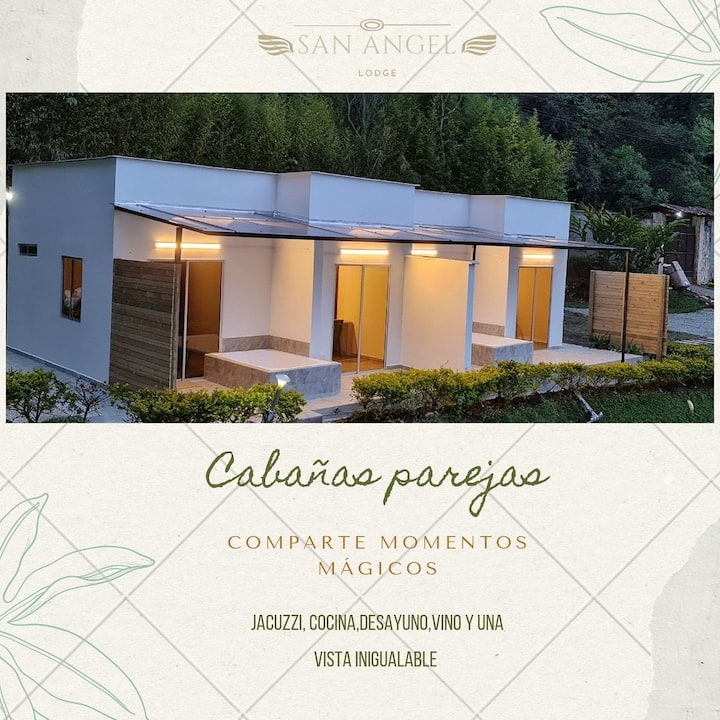 Cabaña lodge 102 jacuzzi privado acceso represa