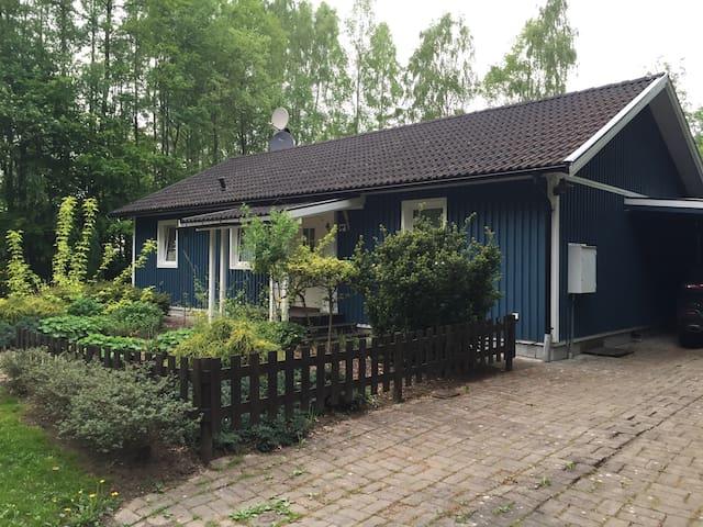Schönes Ferienhaus in Skyrup - Hässleholm S - Casa