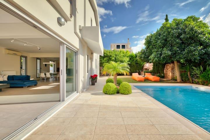 Villa Casa del Mare near Sounio Athens Riviera - Thimari