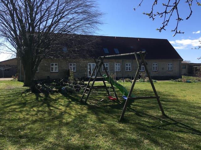 Landlig idyl og bondegårdsferie på Sydsjælland