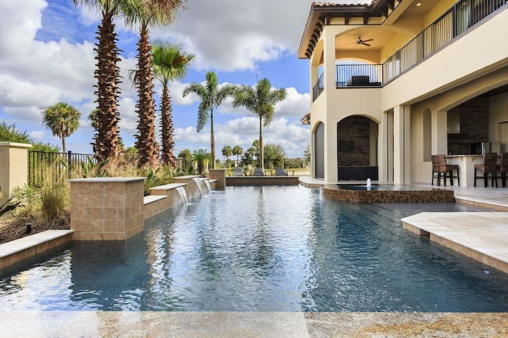 5 Star Orlando Mansion on Reunion Resort, W149 - Four Corners - Villa