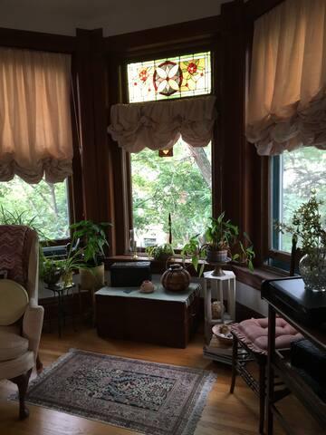 Lincoln Park - Vintage Master Bedroom - Chicago - Apto. en complejo residencial