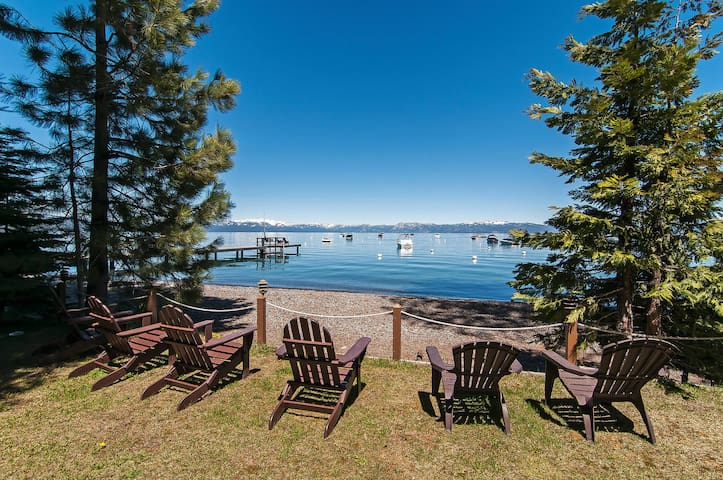 West Lake Serenity - 180 Degree Lake Views, ski in/out, perfect winter/summer house