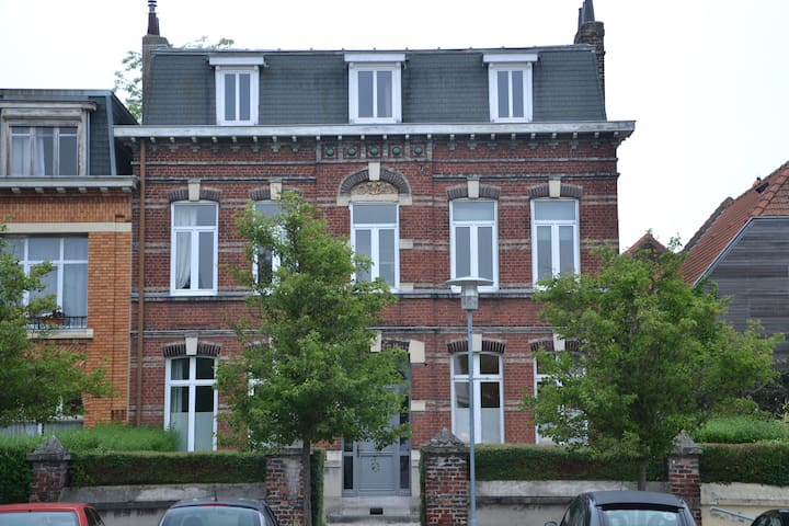 2 rooms close to the Stadium Pierre Mauroy - Lezennes