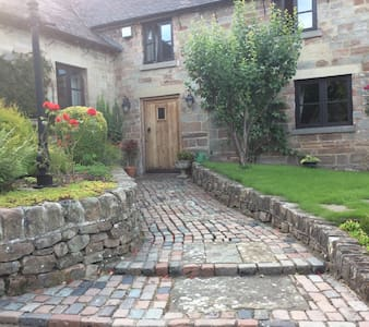 Delightful double room in stone barn conversion - Ashbourne - Annat
