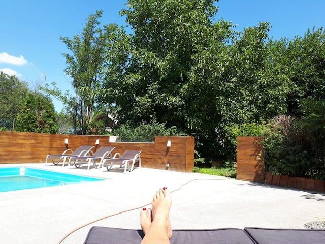 House/Pool/Guesthouse (Bük/Sarvar near)