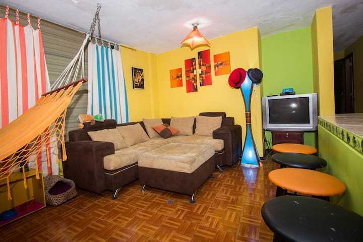 Entire apartment in central Quito - Quito - Appartement