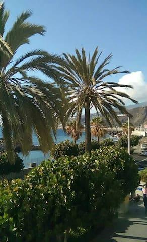 Habitación azotea al mar para uno - Santa Cruz de la Palma - Casa