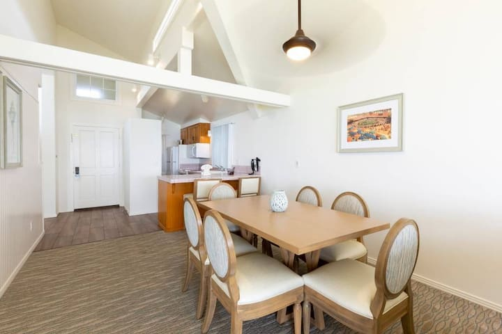 2BR Kitchen and Dining Area