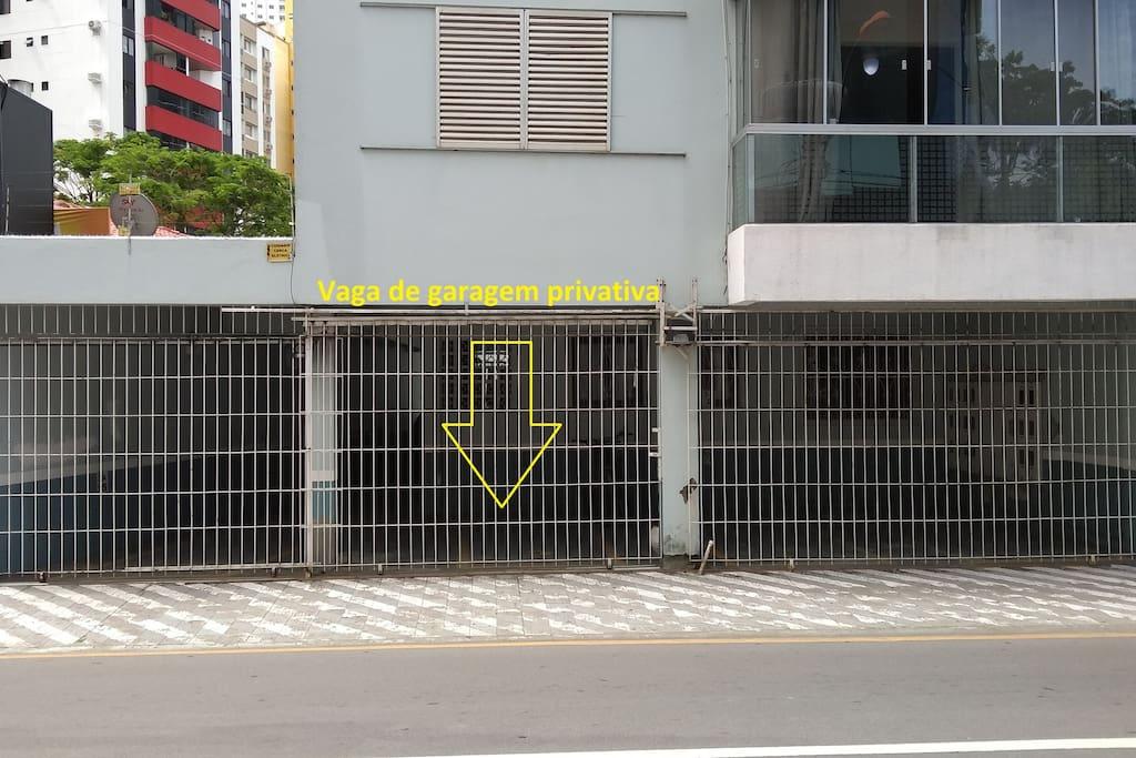 Vaga de garagem privativa