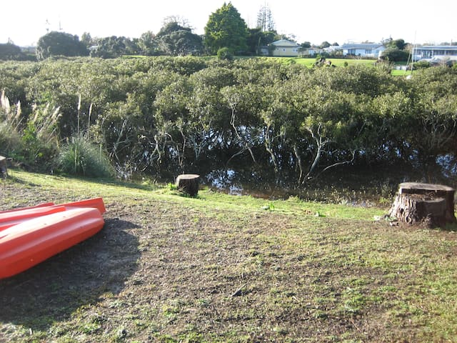Free use of kayak during your stay as we are by the water..