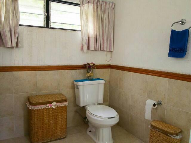 Baño completo dentro de 1 habitacion
