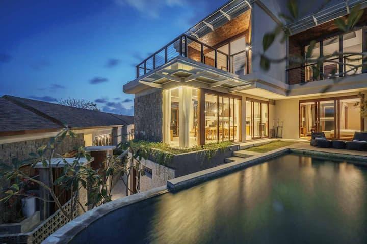 Ocean View Villa 3BR in Sawangan, Nusa Dua