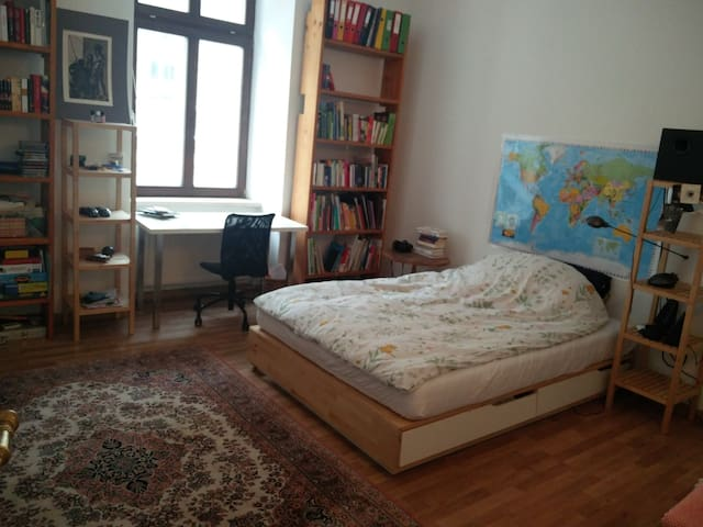 cosy room in a big apartment/central district - Linz - Condomínio
