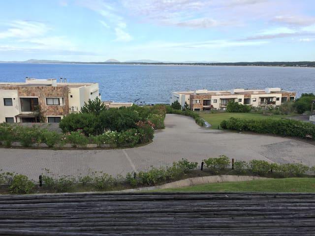 Vista única en Punta Del Este
