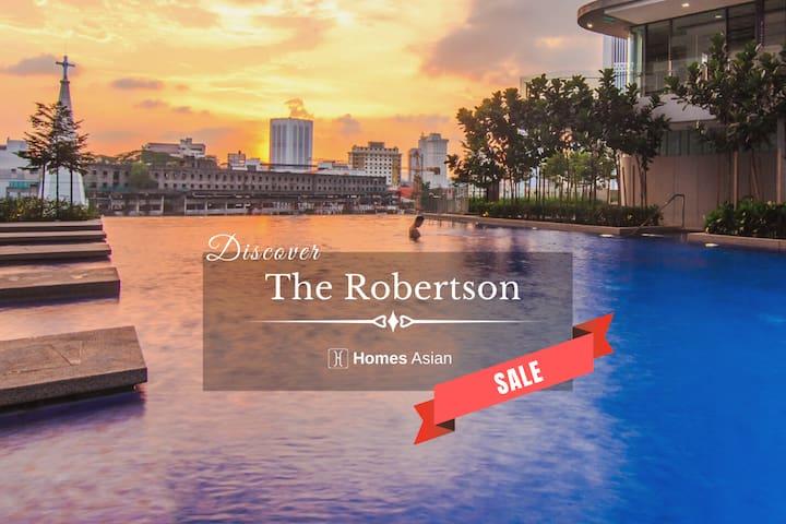 B168 The Robertson Suite 1+1 Room, Bukit Bintang