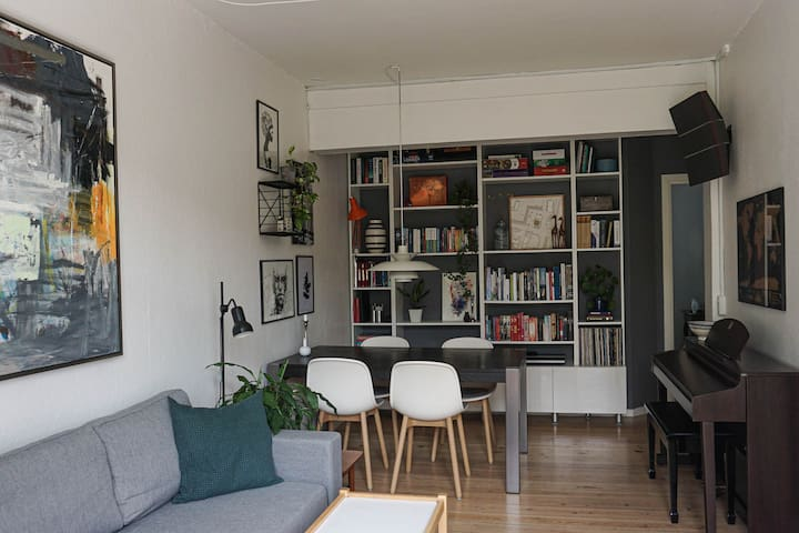 Bright and cozy home in the heart of Aarhus