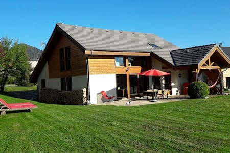 House with wood structure in the Alps - Ponsonnas - Villa
