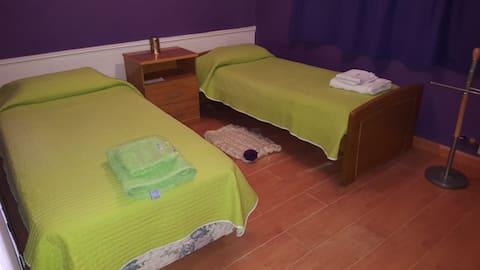 habitación extra en casa de Tere