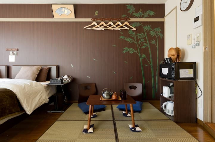A small Tatami space.