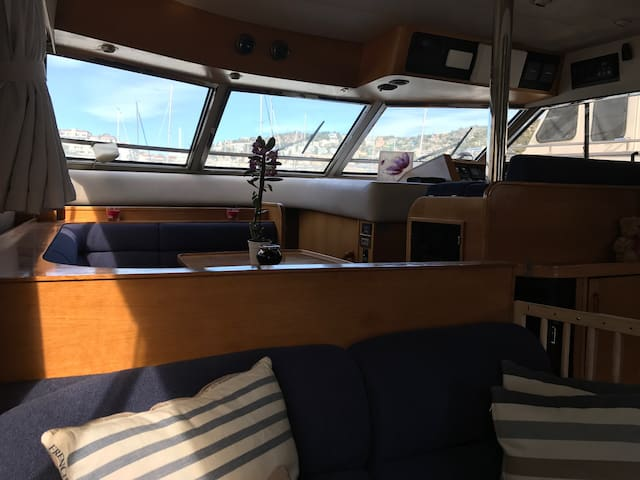Yatch 18 meters in sitges port barcelona - Sitges - Boat