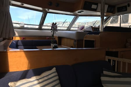 Yatch 18 meters in sitges port barcelona - Sitges
