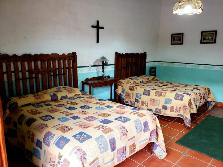 Habitación Mayordomo en Hacienda San Buenaventura