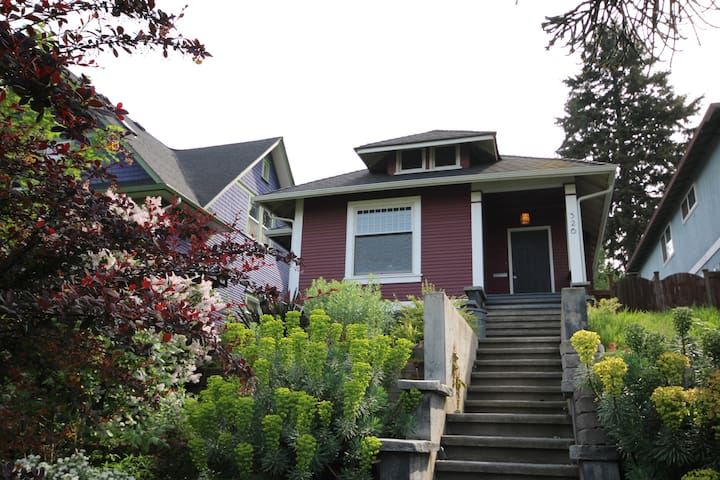 Escape to Madrona: Restored craftsman and kitchen