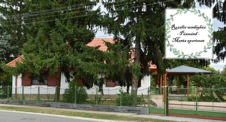 Rozália vendégház-Menta apartman-Vidéki nyugalom