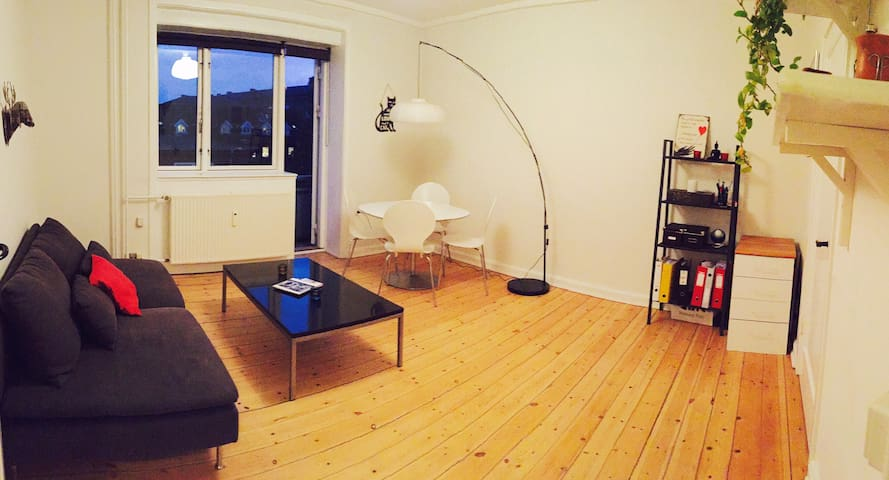 Cozy and bright 2 BR apartment perfectly located. - Kopenhagen - Appartement