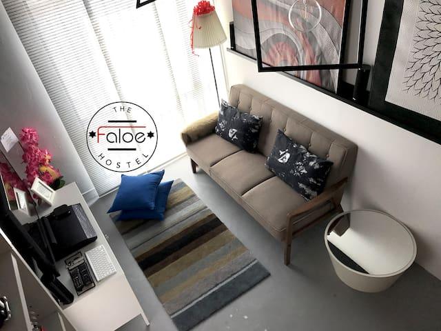 Faloe Hostel 8 Bed Mixed Dorm 筑梦背包客旅舍 8人房