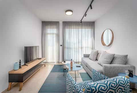 Hilton Bereich - Charmante 1BR Wohnung