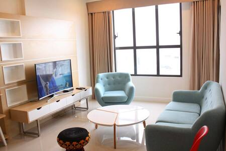 3BRD Apartment, City Center, Rooftop Pool, Gym