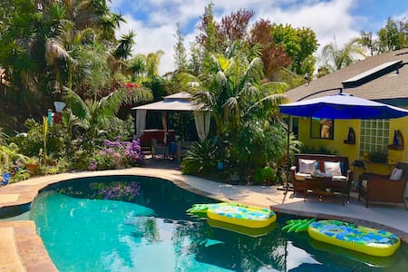 Tropical Paradise in Encinitas ~ Room Rental