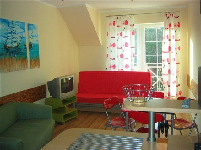 Apartment 200 m from the beach in Krynica Morska - Krynica Morska - Leilighet