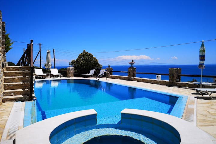 Relax & Swim with Stunning View 02 (Syros Island)