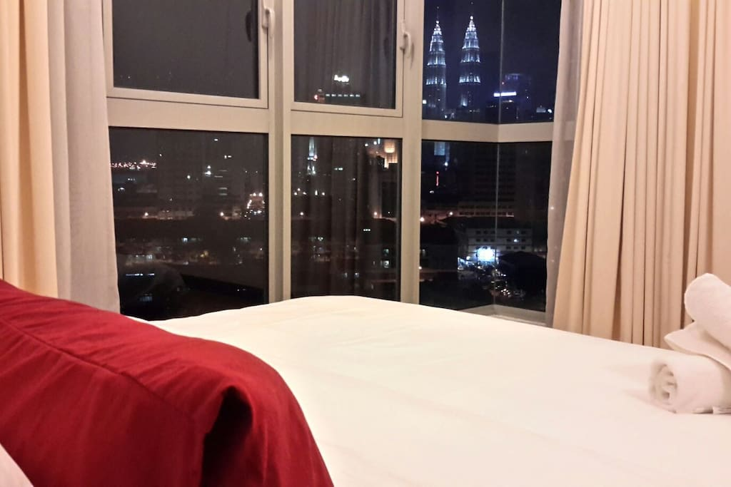 Lovely dreaming with the view of Kuala Lumpur