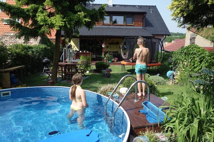 Apartmán Třebenice - ráj pro turisty a cyklisty