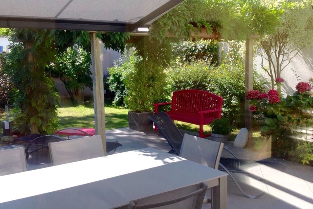 Terrasse - jardin paysager