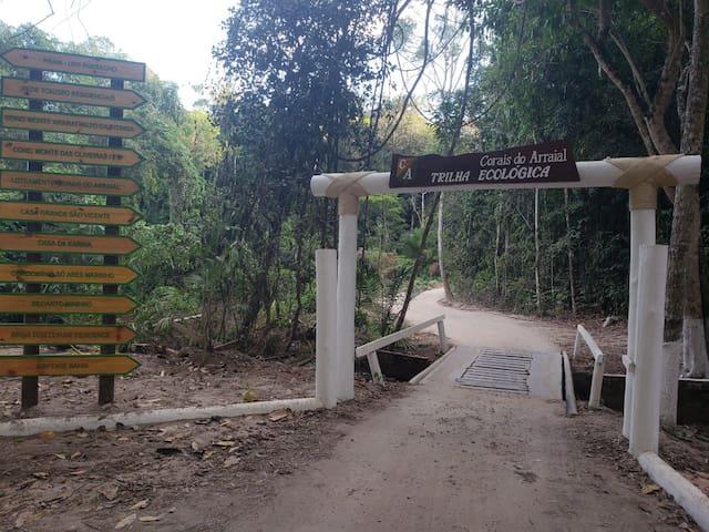 Próximidades: Rua do Mucugê, Uiki Parracho, Praias do Parracho e Pitinga
